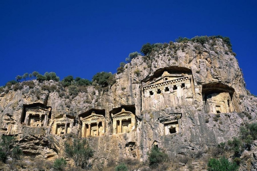 The Dalyan Rock Tombs Of Kaunos Hotel